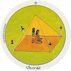 The Motherpeace Round Tarot Deck- 78-Card Deck