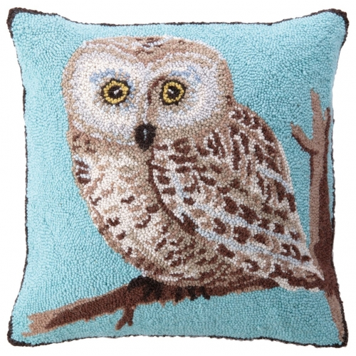 Saw Whet Owl Pillow