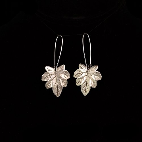 Silver Eden Earrings