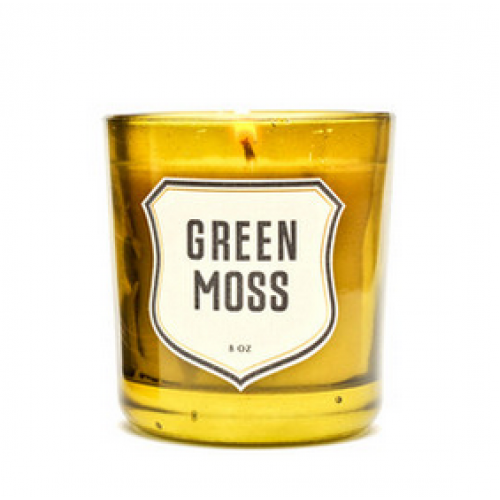 green Moss Izola Candle