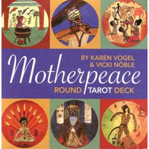 The Motherpeace Round Tarot Deck- 78-Card Deck